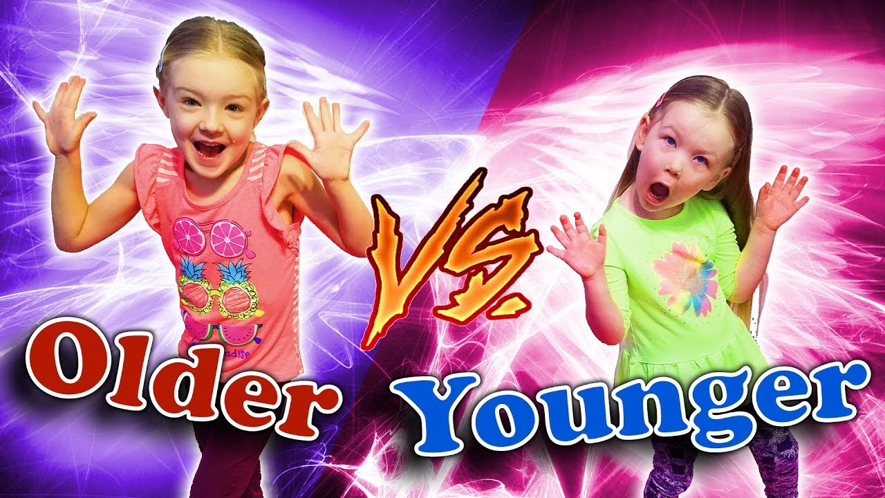 Older Siblings Vs Younger Siblings Sisters Trinity And -6223