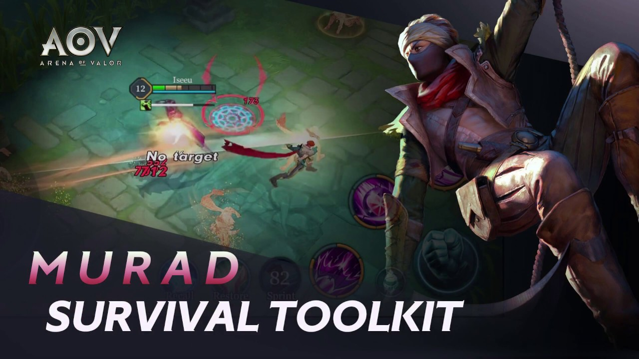 Murad Survival Toolkit Garena Aov Arena Of Valor