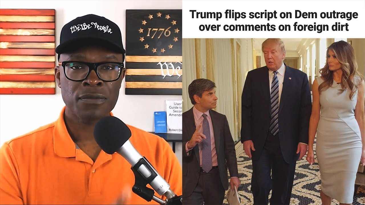 Anthony Brian Logan - OUTRAGE Over Trump Foreign Intel Remark Exposes Media HYPOCRISY!