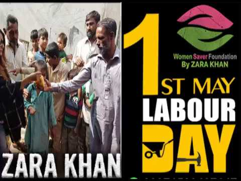 Happy labour day 2018 Women Saver Foundation by Zara khan