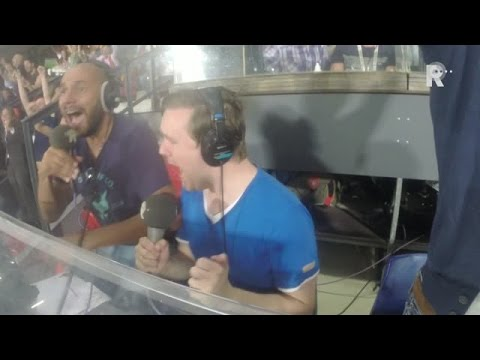 Dennis van Eersel en Sinclair Bischop gaan los op Radio Rijnmond na de goal van Feyenoord tegen M...