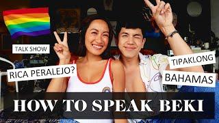 Beki / Gay Lingo 101 with BJ Pascual | Laureen Uy #PRIDE