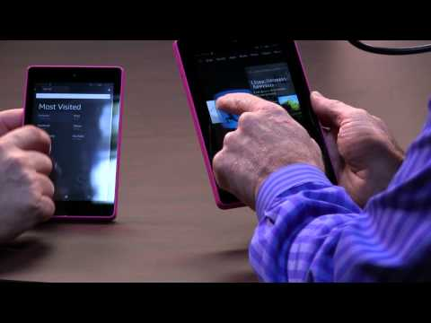 Amazon Fire HD 6 and 7
