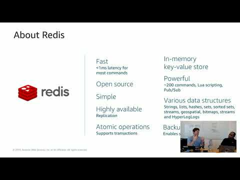 Database Deep Dive | S1 E8 – Redis & Amazon ElastiCache: Building Real Time Apps