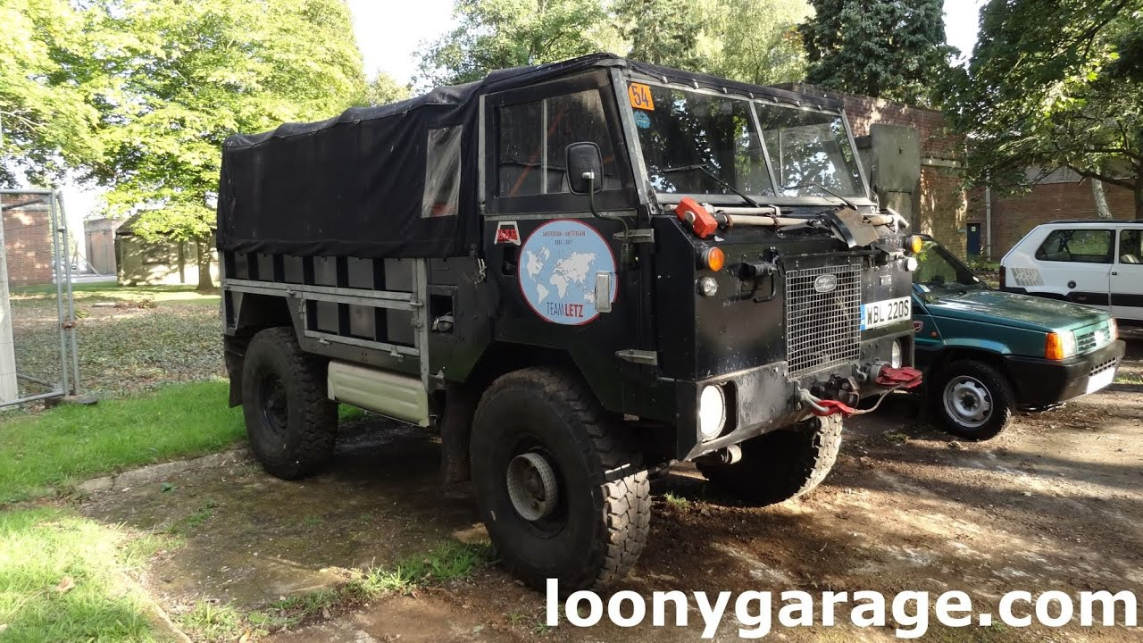 Land Rover 101 Forward Control - YouTube