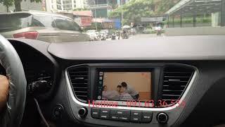Xem video youtube trên xe Hyundai Accent ko cần cắt dây tốc độ
