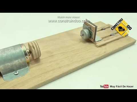 mini lathe machine How to make a small wood lathe.