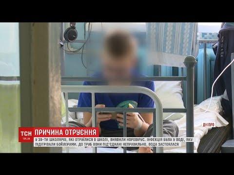 ТСН: У 39 школярів, що отруїлися у Дніпрі, виявили норовірус