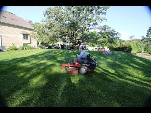 Lawn Mowing At Costa Farm Stillwater, MN & Veggies