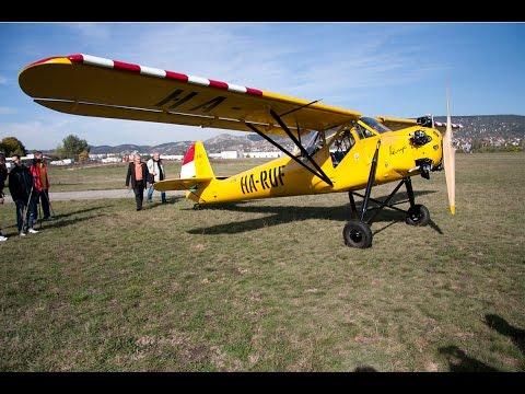 Kánya a világon az egyetlen magyar tervezésű és ma is működő repülője