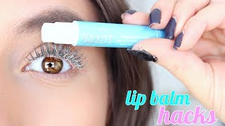 11 Lip Balm HACKS EVERY GIRL NEEDS TO KNOW !