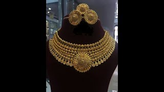 Gold Bridal|Choker Set|Short Necklace|Jewellery Designs Collection