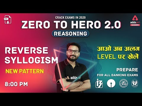 Reverse Syllogism New Pattern Questions Reasoning Zero To Hero