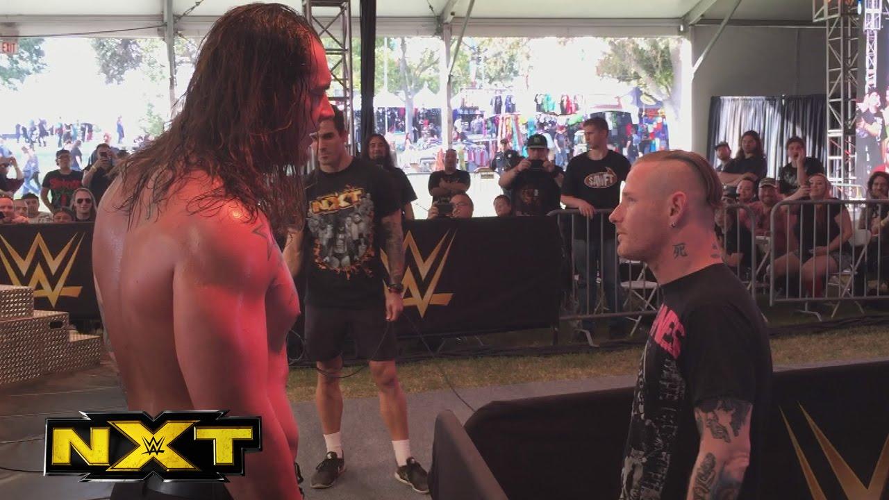 Slipknot's Corey Taylor Hits Baron Corbin At The NXT ...