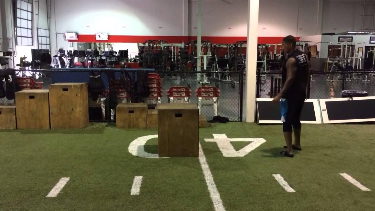 NFL Training: Box Jump, Depth Drop, and Plyometric Combo ...