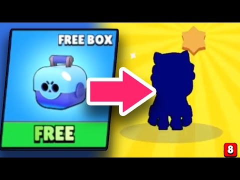 UNLOCKING Sandy FROM FREE BOX! Brawl Stars Funny Moments & Fails & Glitches