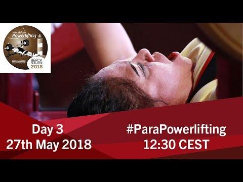 Women's Up to 67kg | World Para Powerlifting European Open Championships