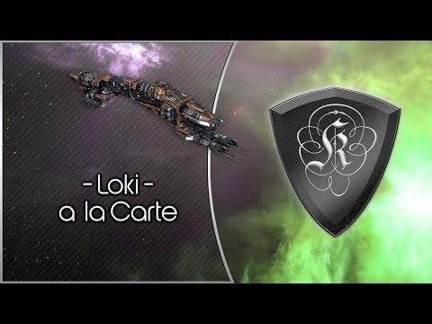EvE Online Solo PvP: Loki á la Carte - YouTube