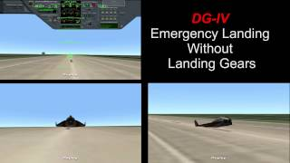 Orbiter 2010 - DG-IV Emergency Landing Without Landing Gears