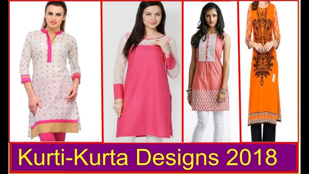 74509b7b47 Latest pink & white color kurti styles - Trending kurta tops 2018 | Our  Glamour