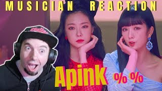 MUSICIAN REACTS | Apink - %% (Eung Eung(응응)) Reaction & Review