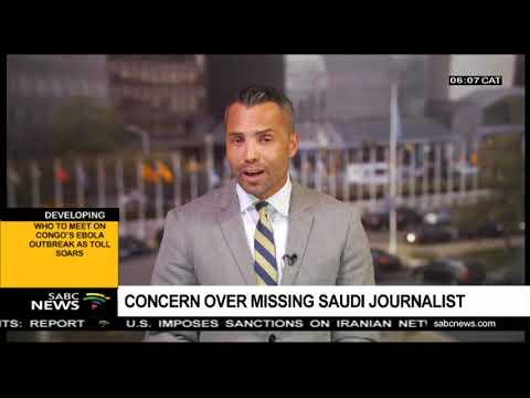 Concern over missing Saudi journalist