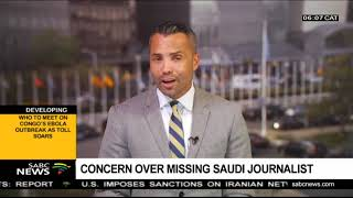 Concern over missing Saudi journalist thumbnail