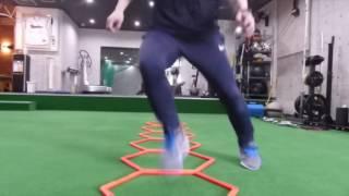 フィジオ福岡 トレーニング動画 Agility Grid
