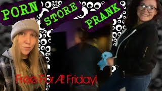 FREE FOR ALL FRIDAY! Porn Store Prank