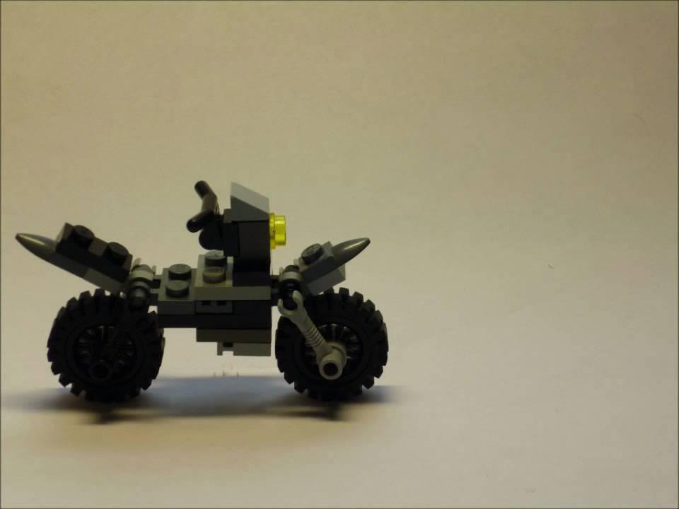 Lego Building Instruction 9 Motorbike Youtube