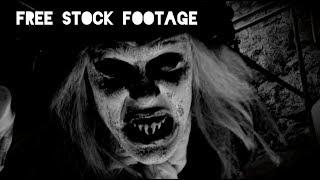 'SILENT FILM VAMPIRE' Free Stock Footage