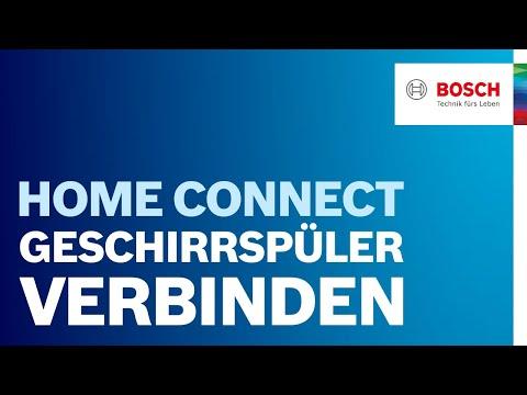 Bosch geschirrsp ler mit home connect funktion verbinden - Bosch geschirrspuler fehlercode tabelle ...