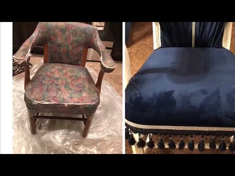 DIY CHAIR, PILLOW AND OTTOMAN