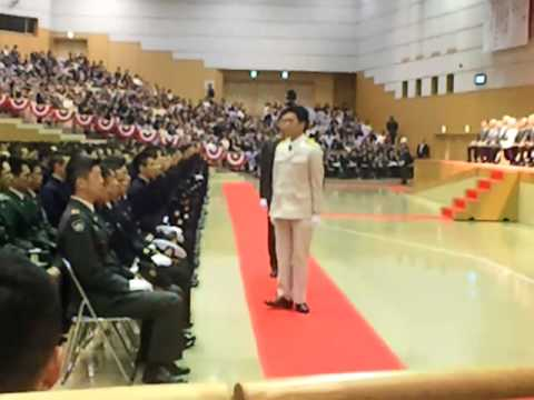 National Defence Acadamy's Entrance Ceremony 2012, Japan