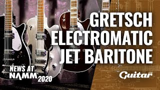 Get low with the new Gretsch Electromatic Jet Baritone #NAMM2020