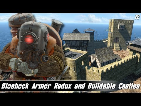 Fallout 4 Mods Week 72 - Bioshock Armor Redux and Buildable Castles!