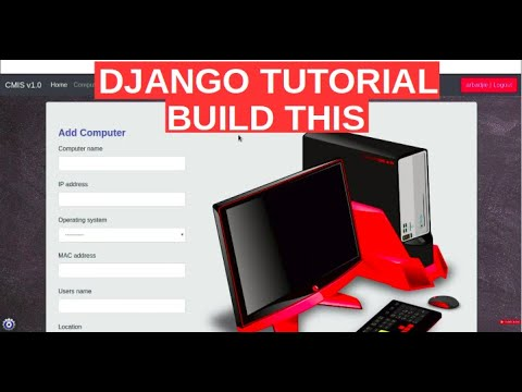 Django - 01 Computer Inventory - Project Overview