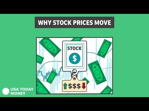 What makes a stock's price move? What you need to know   For My Money