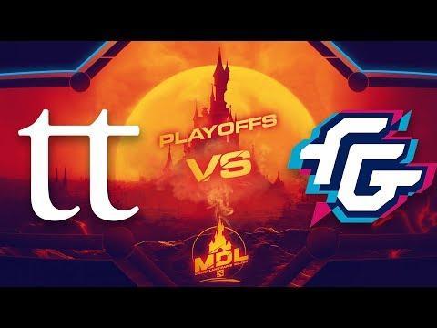 TT vs FG - MDL Disneyland - G2