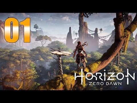 Horizon Zero Dawn - Gameplay Walkthrough Part 1: Lessons of the Wild