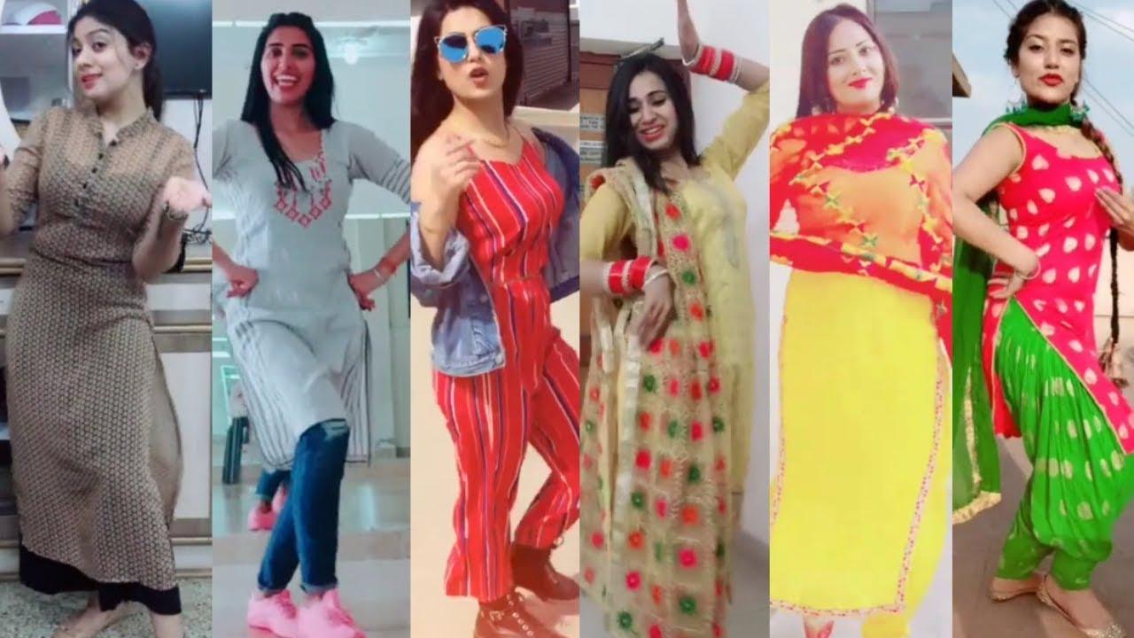 musically punjabi girls best dance video #5 | tiktok viral dance ...