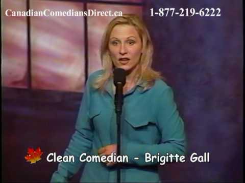 Brigitte Gall - CLEAN COMEDIAN