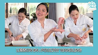 Lesson 4 : POULTRY HANDLING & FABRICATION | Judy Ann's Kitchen