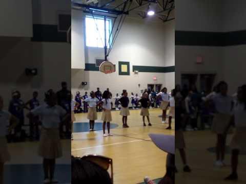Norview elementary school cheer team........