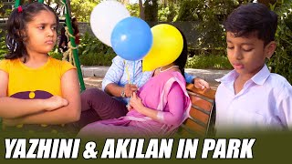 Yazhini & Akilan in Park | Thiru & Anandhi | Best of Naayagi