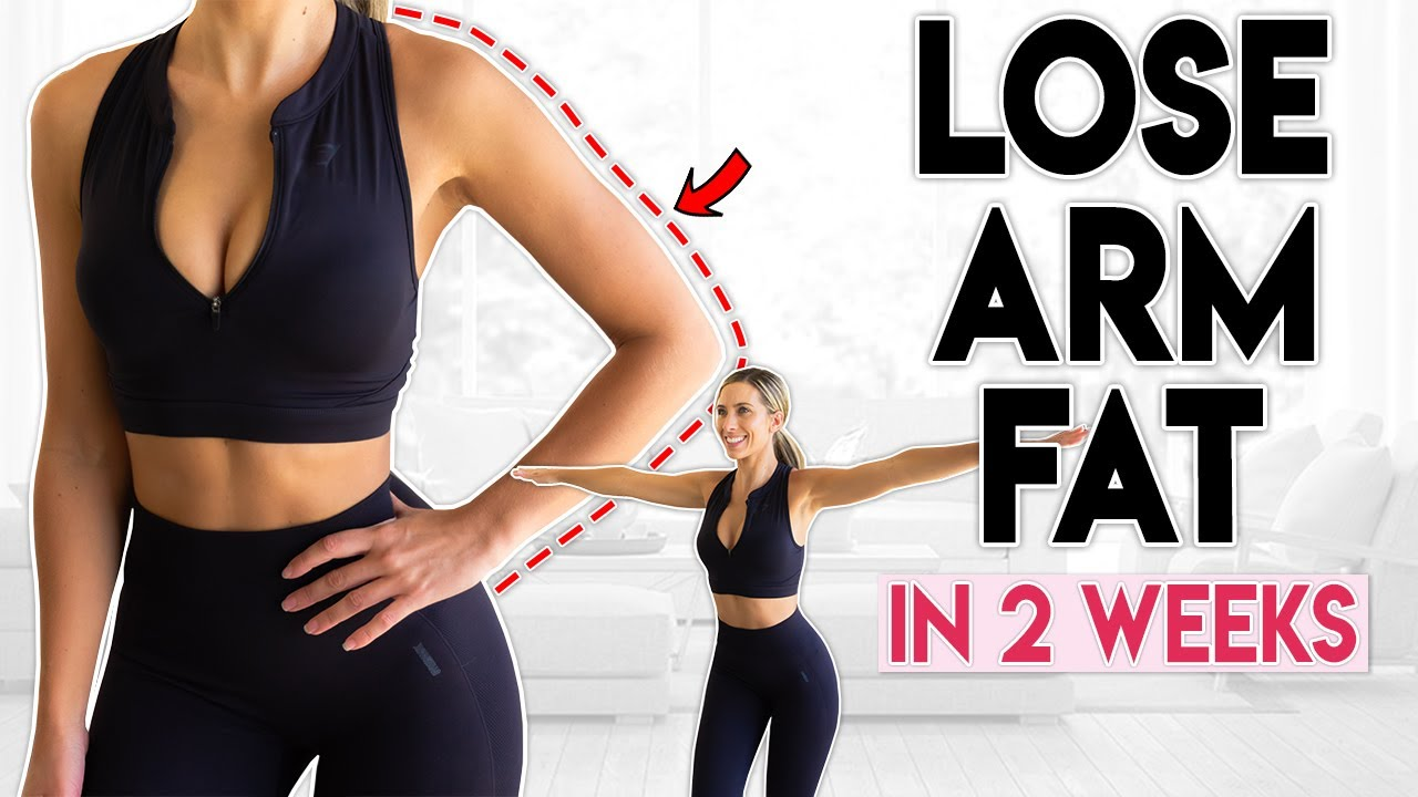 LOSE ARM FAT in 12 weeks  12 minute Home Workout