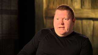 The Hobbit: An Unexpected Journey: Stephen Hunter Is Bombur 2012 Movie Behind the Scenes