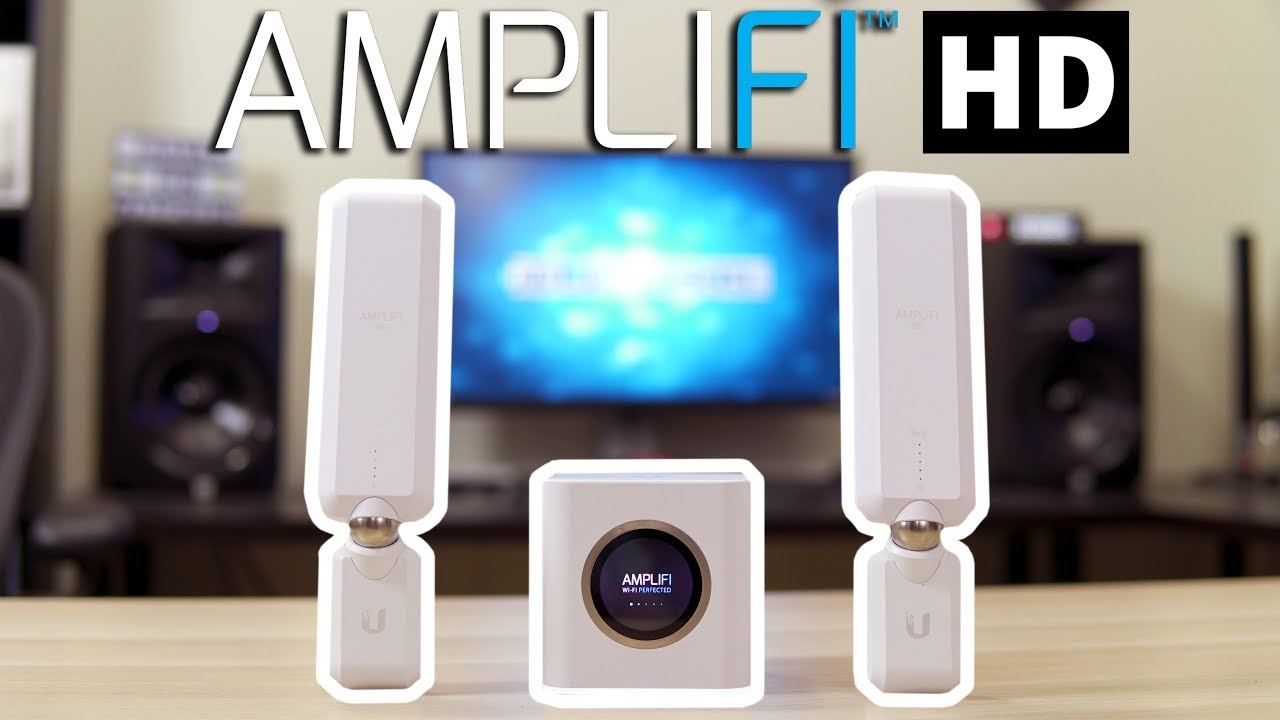 Ubiquiti Amplifi HD Review - Is It The Best Wifi Router? - YouTube