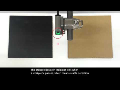 OMRON E3AS L80 Cardboard Sheets Detection