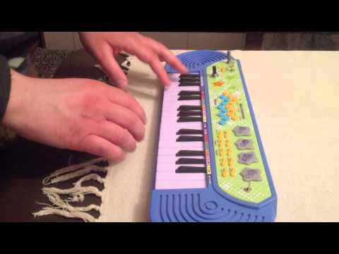 Circuit Bent Argos Keyboard